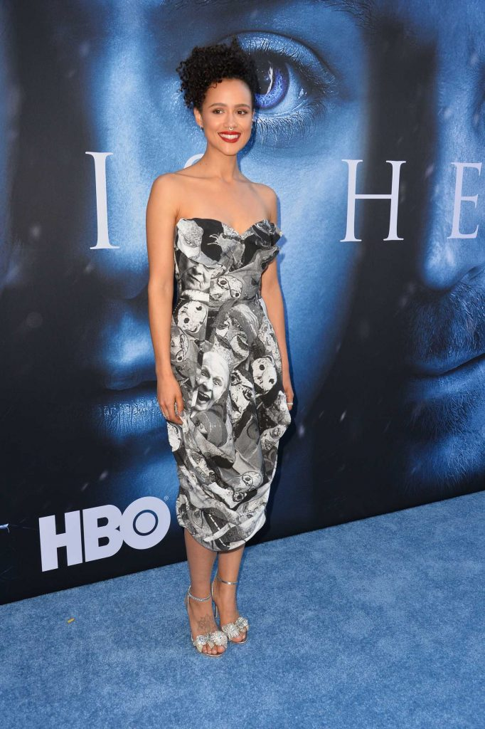 Nathalie Emmanuel at the Game of Thrones Season 7 Premiere in Los Angeles-3