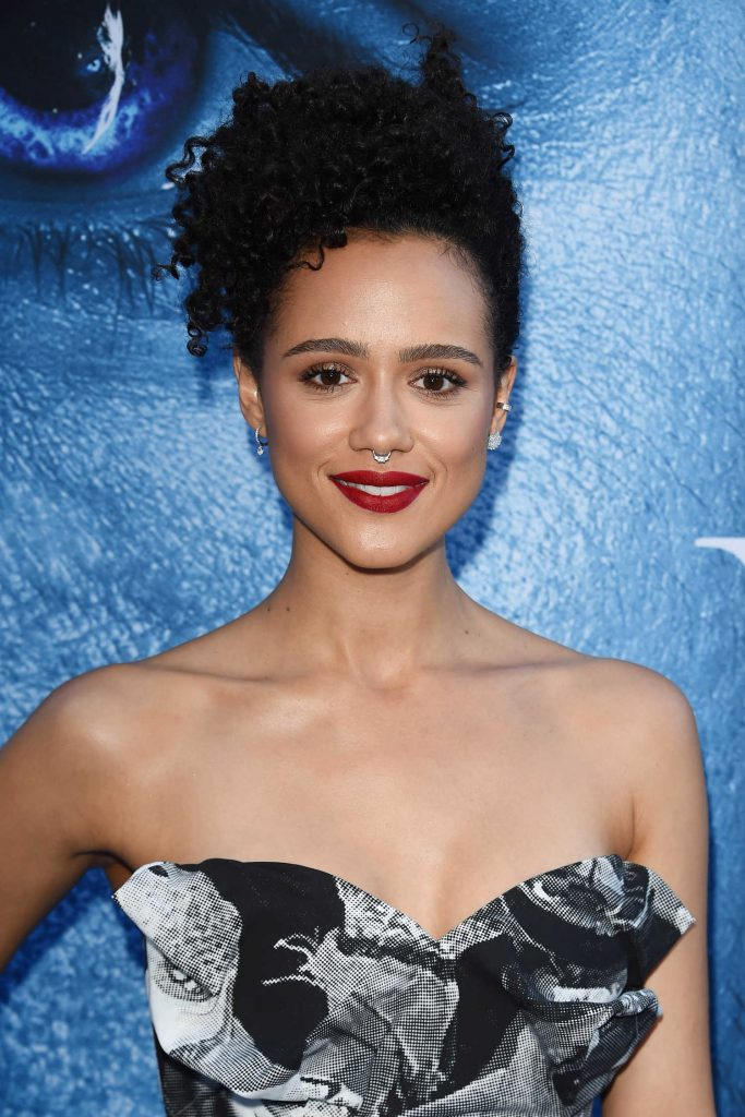 Nathalie Emmanuel at the Game of Thrones Season 7 Premiere in Los Angeles-5