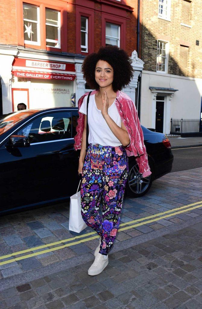 Nathalie Emmanuel Was Spotted in Central London-1