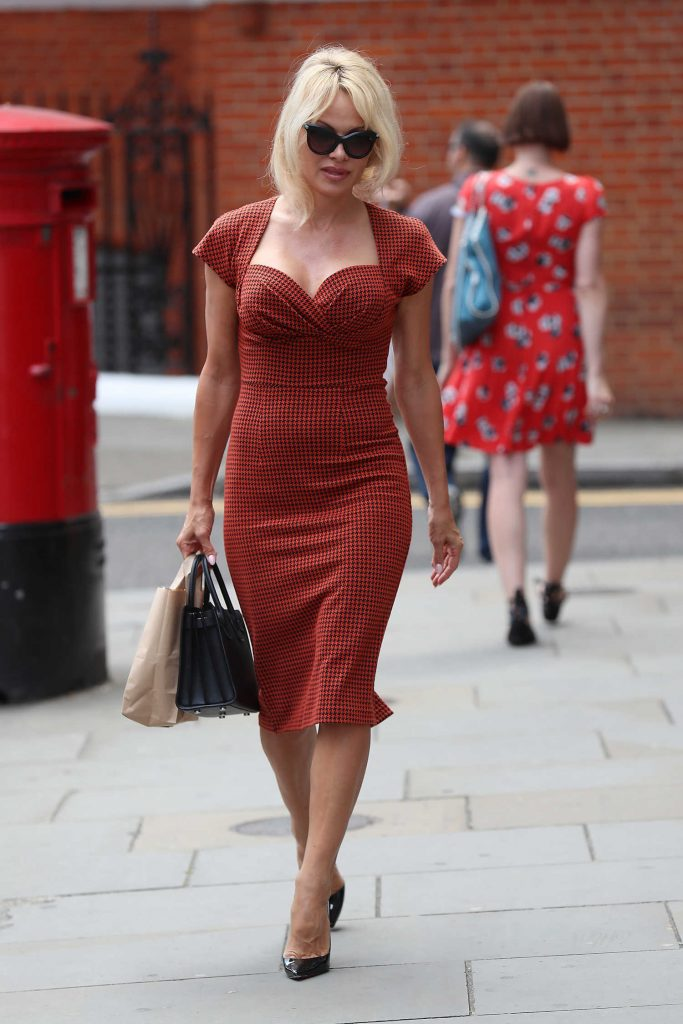 Pamela Anderson Was Seen Out in London-1