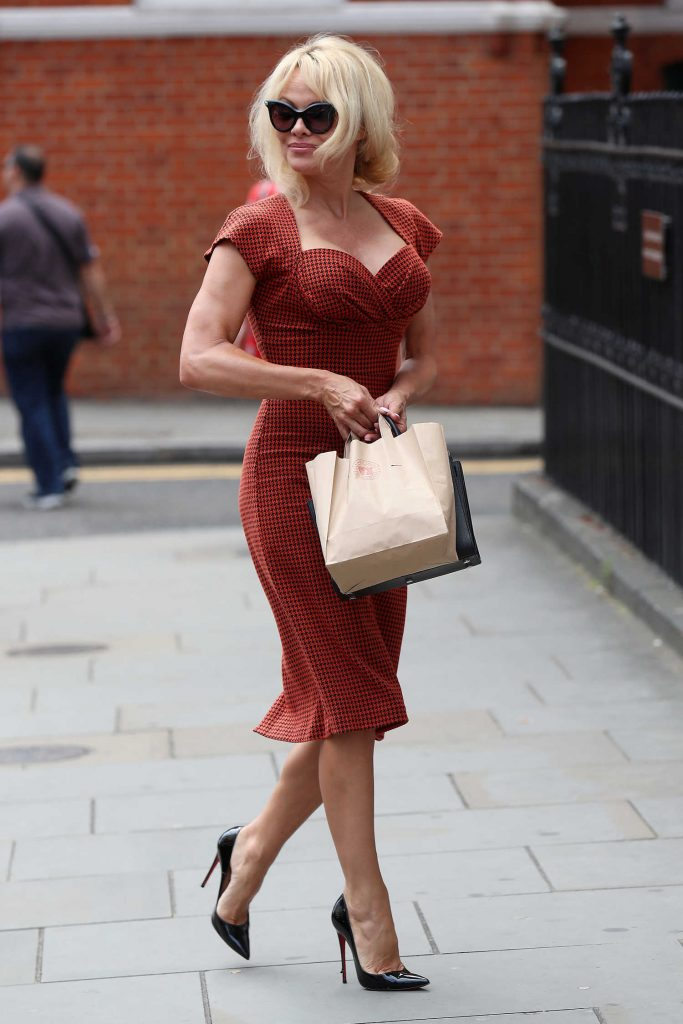 Pamela Anderson Was Seen Out in London-3