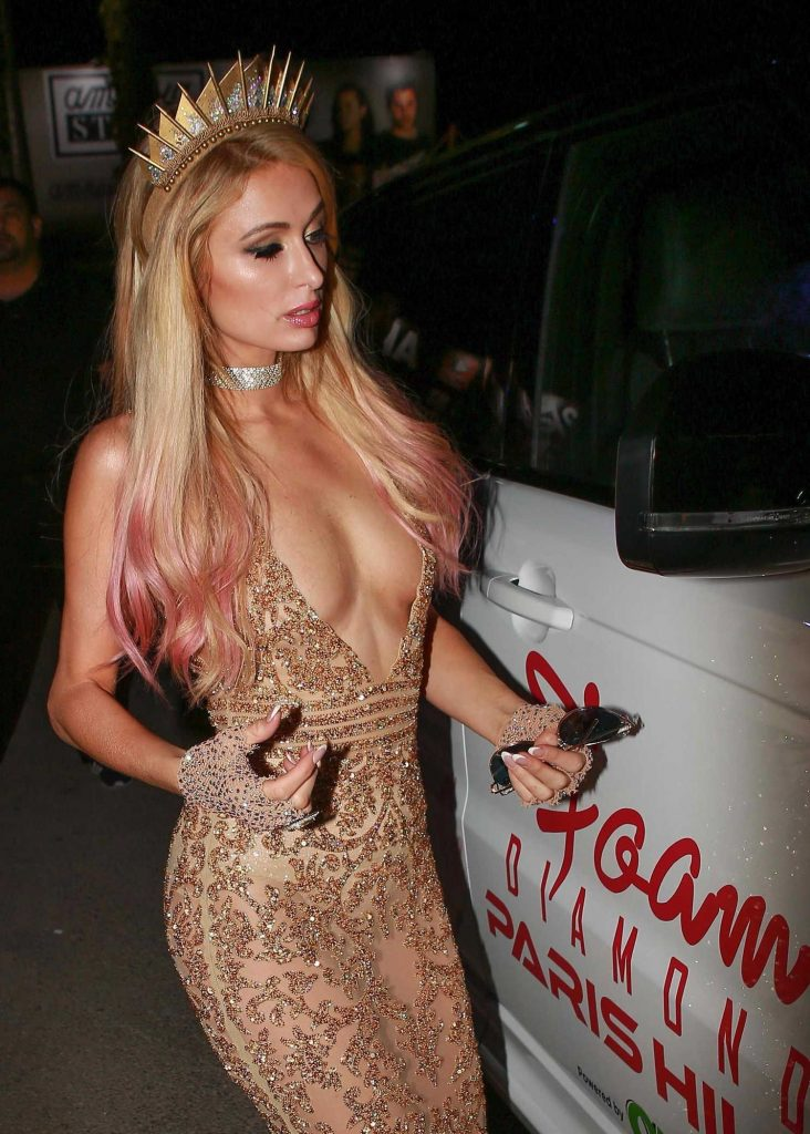 Paris Hilton Night Out in Ibiza-5