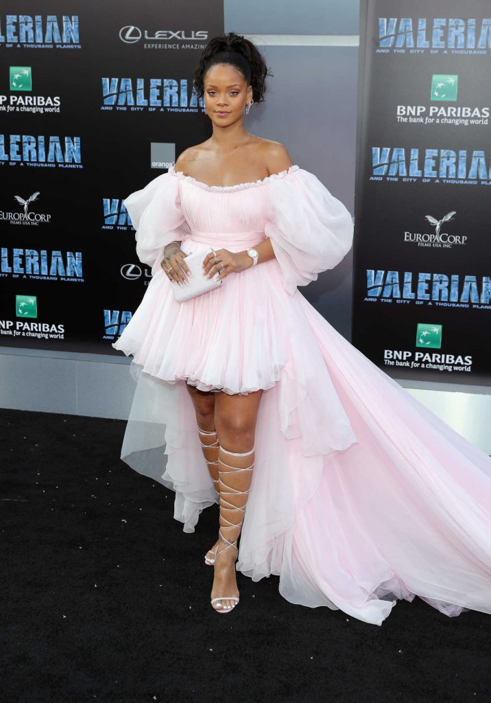 Rihanna at the Valerian and the City of a Thousand Planets Premiere in Hollywood-1