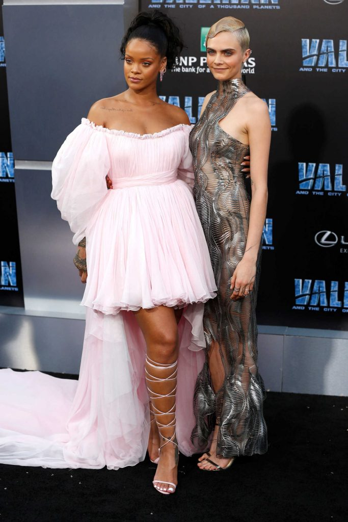 Rihanna at the Valerian and the City of a Thousand Planets Premiere in Hollywood-5