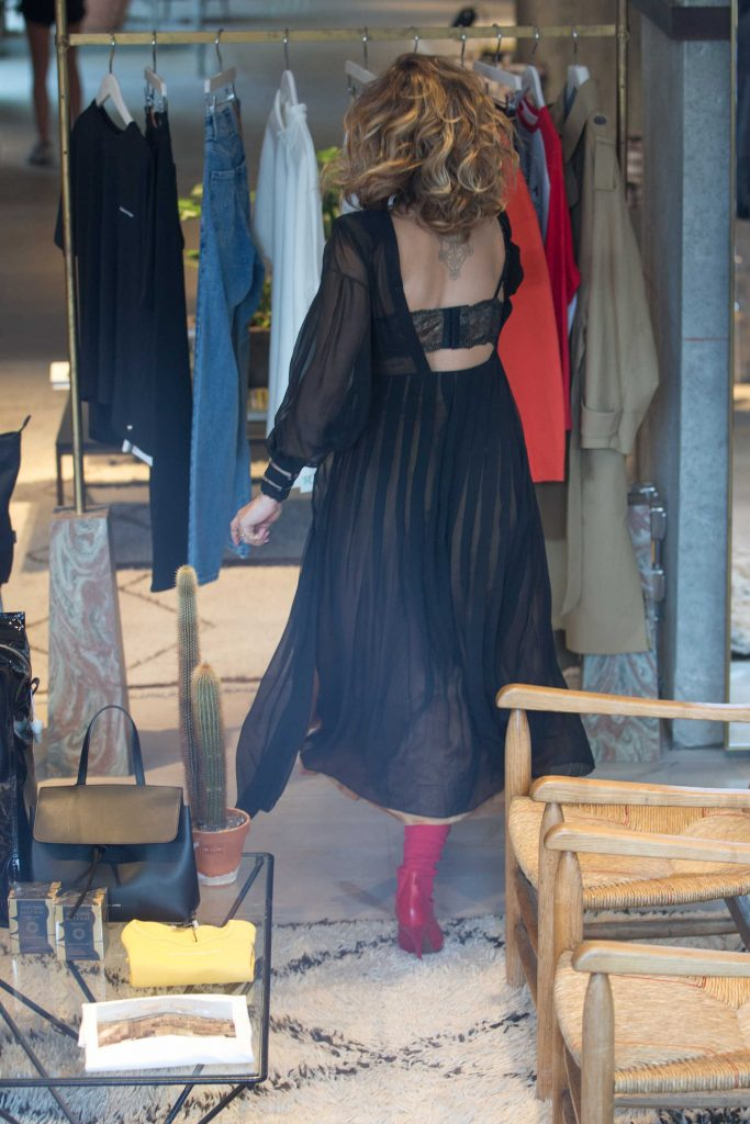 Rita Ora Goes Shopping at the Store at Soho House Hotel in Berlin-2