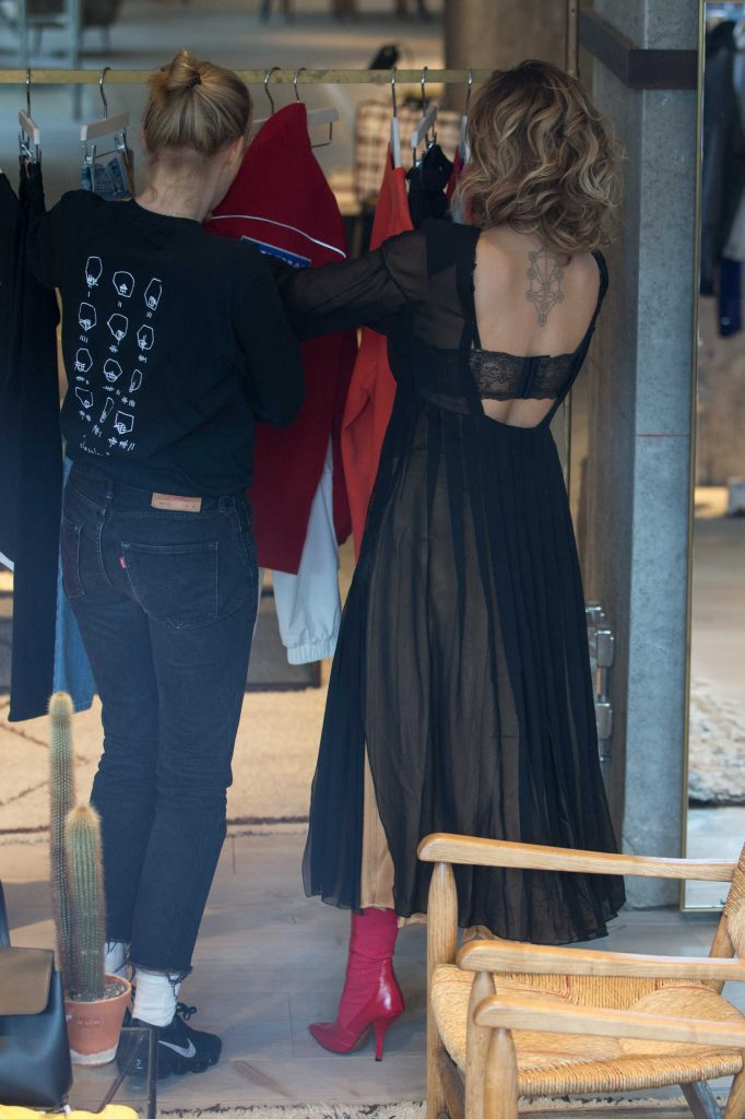 Rita Ora Goes Shopping at the Store at Soho House Hotel in Berlin-3
