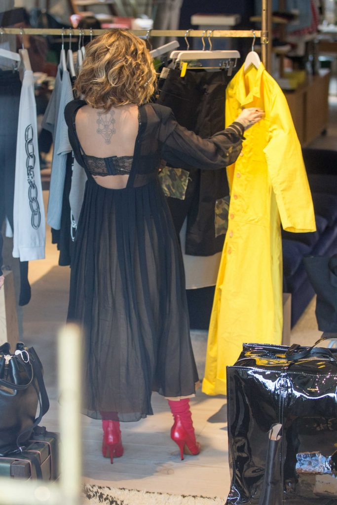 Rita Ora Goes Shopping at the Store at Soho House Hotel in Berlin-4