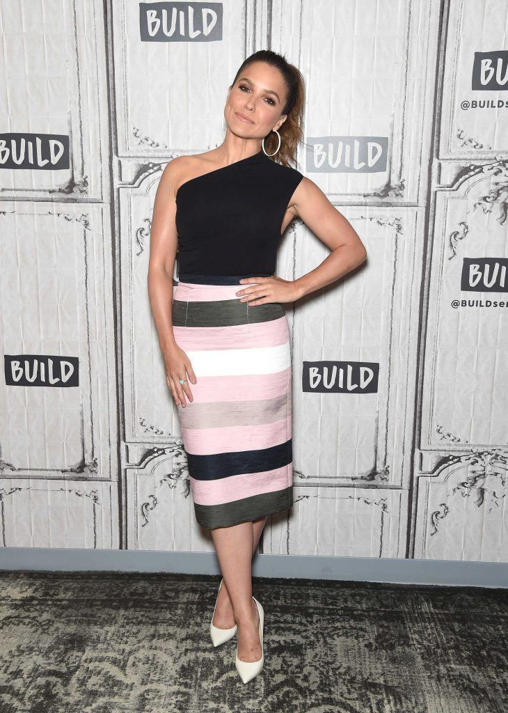 Sophia Bush Visits the Build Series at Build Studio in New York City-1