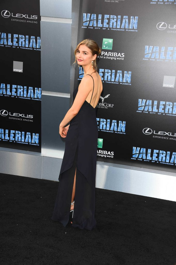 Stefanie Scott at the Valerian and the City of a Thousand Planets Premiere in Hollywood-2