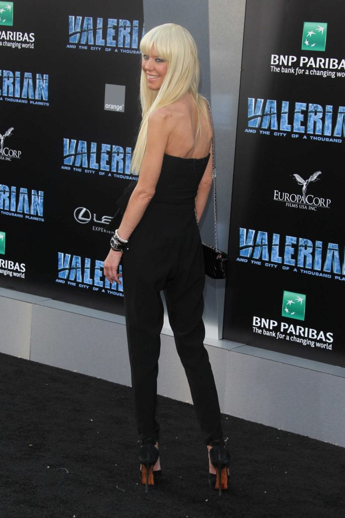 Tara Reid at the Valerian and the City of a Thousand Planets Premiere in Hollywood-3