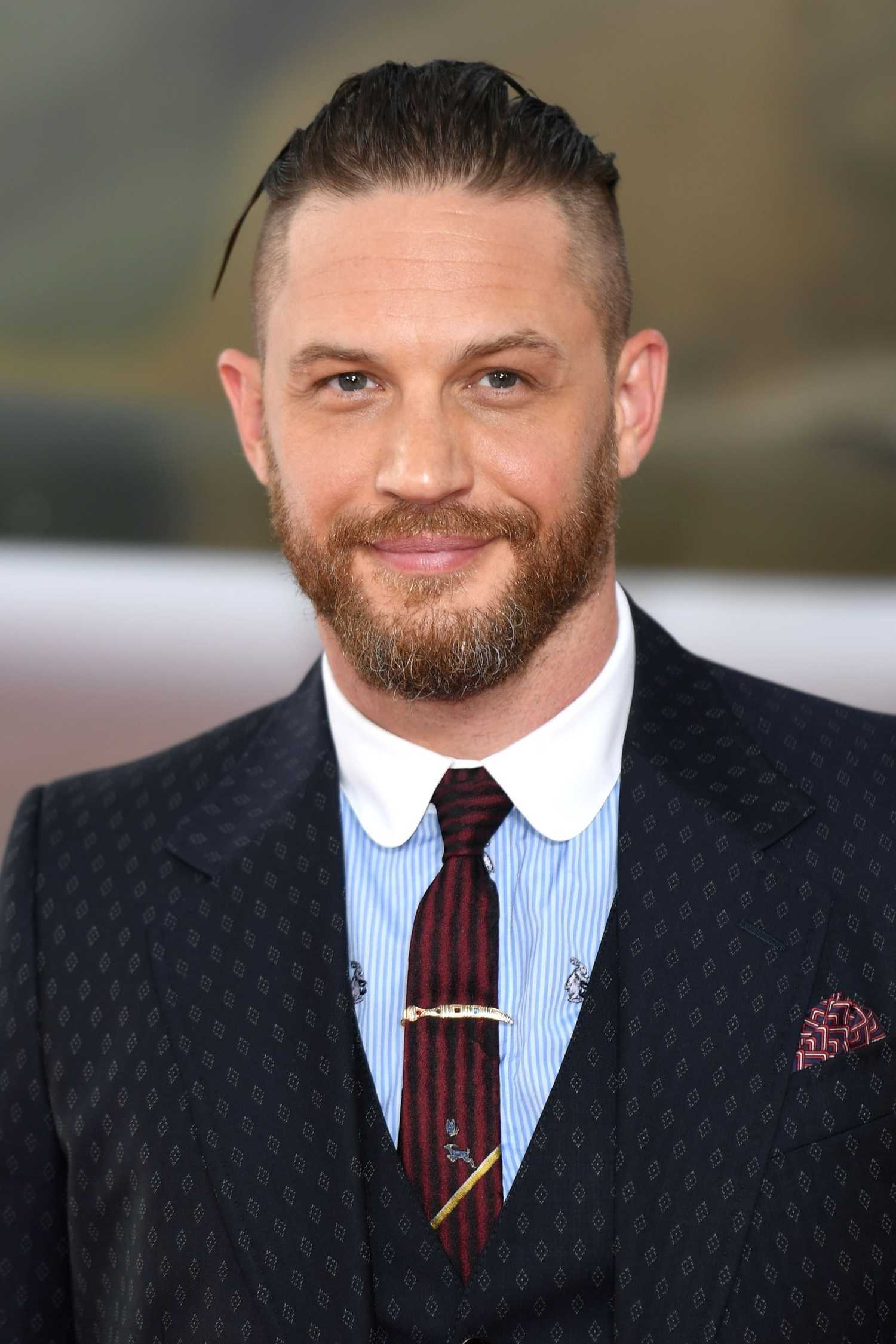 Tom Hardy at the Dunki...