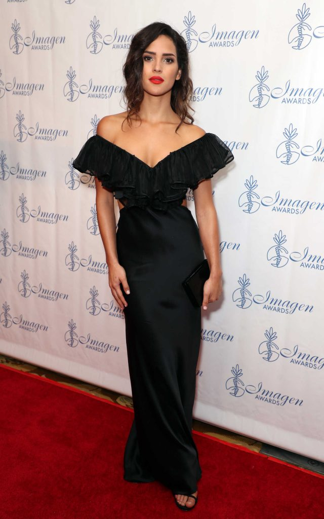Adria Arjona at the 32nd Annual Imagen Awards in Los Angeles-1