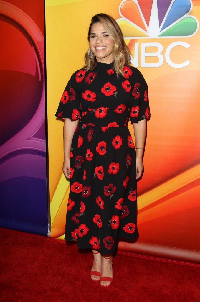 America Ferrera at NBC Summer TCA Press Tour in Beverly Hills-1