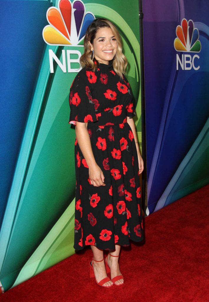 America Ferrera at NBC Summer TCA Press Tour in Beverly Hills-2