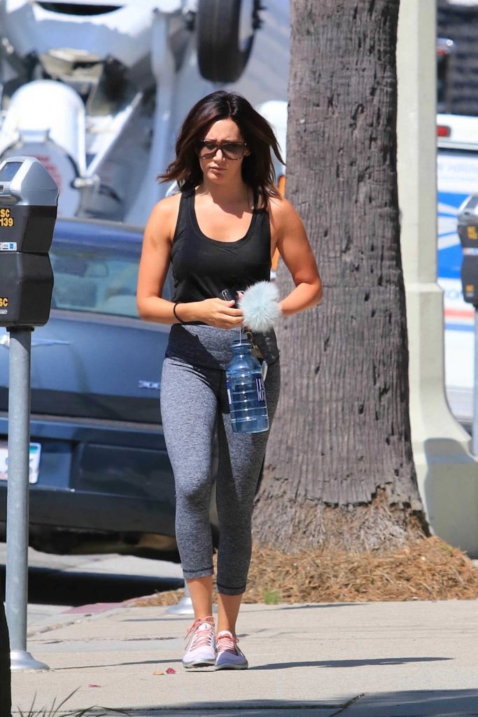Ashley Tisdale Hits the Gym in Los Angeles-3