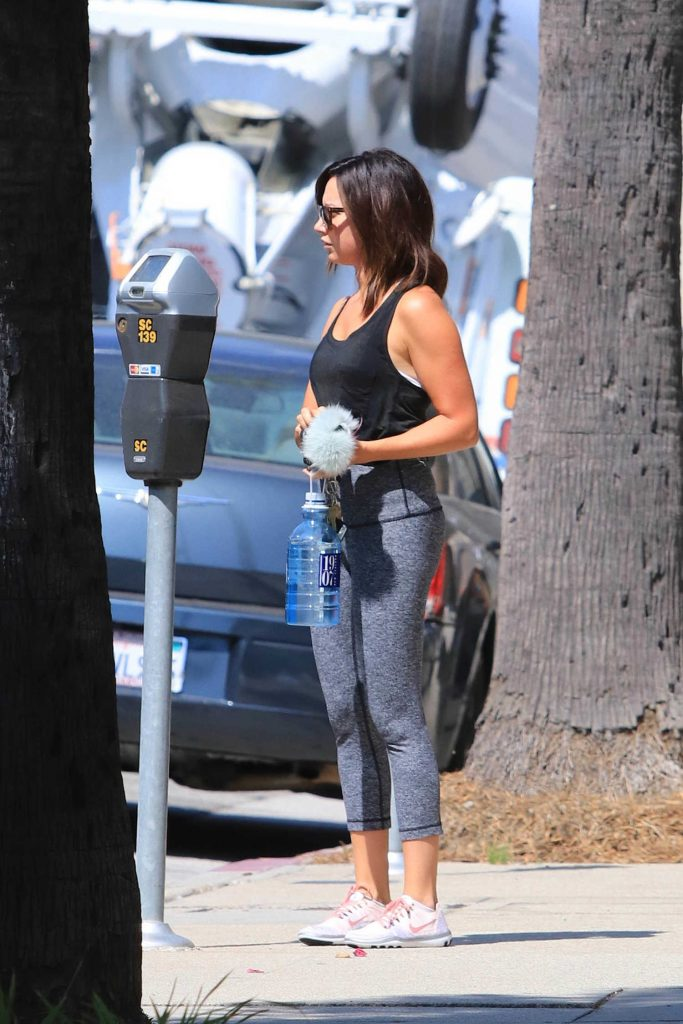 Ashley Tisdale Hits the Gym in Los Angeles-5