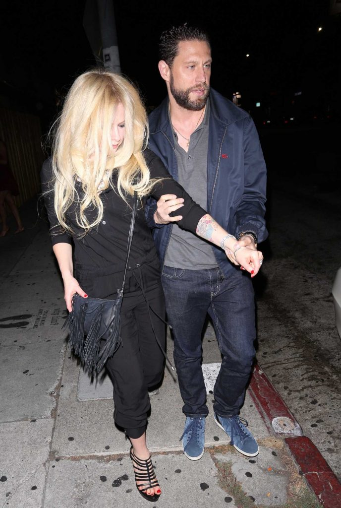Avril Lavigne Leaves a Peppermint Club in West Hollywood-3