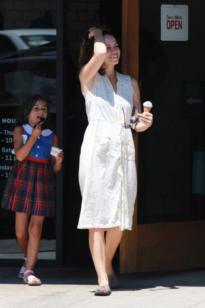 Bethany Joy Lenz Gets Some Ice Cream in Studio City-1