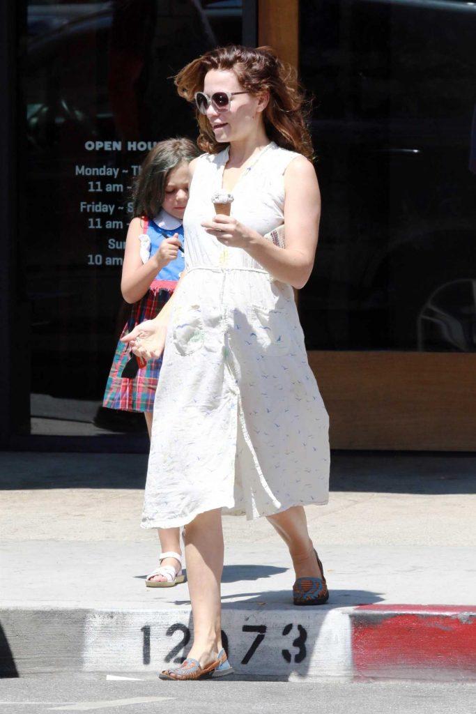 Bethany Joy Lenz Gets Some Ice Cream in Studio City-2