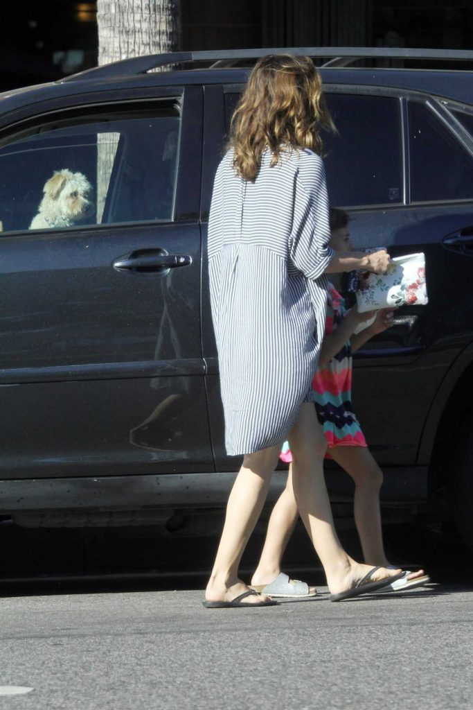 Bethany Joy Lenz Stops for Some Ice Cream With Her Daughter in Studio City-5