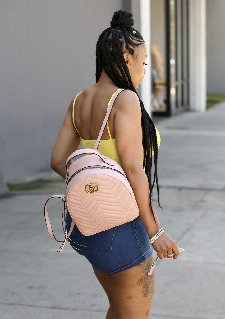 Blac Chyna Goes Shopping at Urban Outfitters in Los Angeles-5