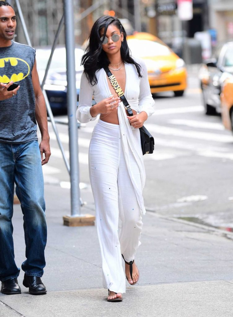 Chanel Iman Was Seen Out in NYC-3