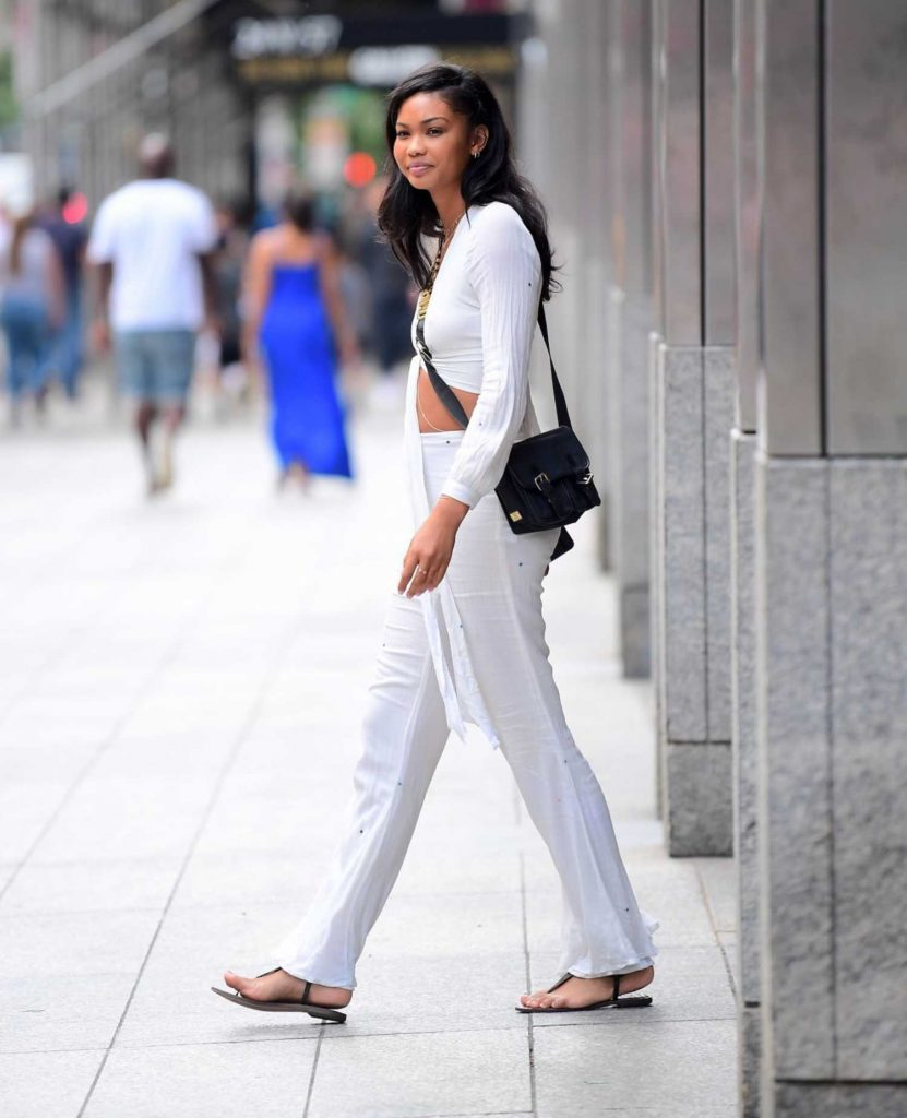 Chanel Iman Was Seen Out in NYC-5