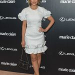 Dannii Minogue at 2017 Marie Claire Awards at Fox Studios in Sydney