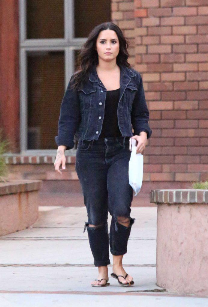 Demi Lovato Was Spotted Out in LA-1