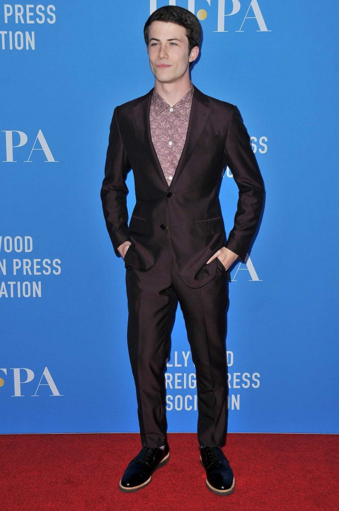Dylan Minnette at Hollywood Foreign Press Association's Grants Banquet in Beverly Hills-1