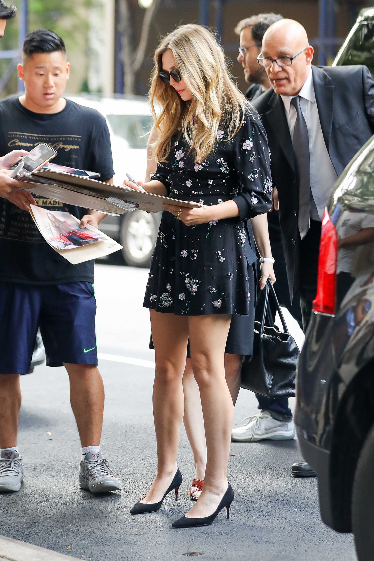 Good Morning America Los Angeles : Elizabeth olsen visits abc studios for good morning