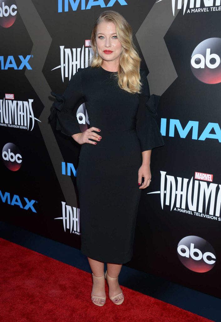 Ellen Woglom at Marvel's Inhumans - The First Chapter IMAX World Premiere in Universal City-1