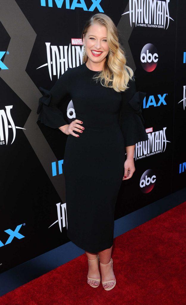 Ellen Woglom at Marvel's Inhumans - The First Chapter IMAX World Premiere in Universal City-2