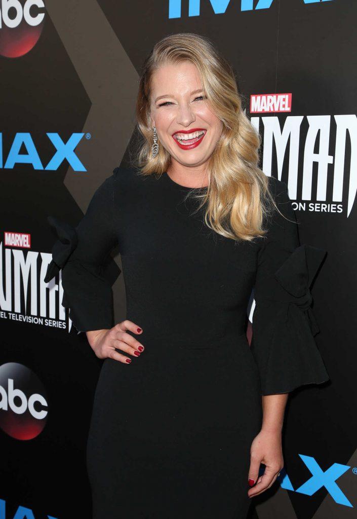 Ellen Woglom at Marvel's Inhumans - The First Chapter IMAX World Premiere in Universal City-4