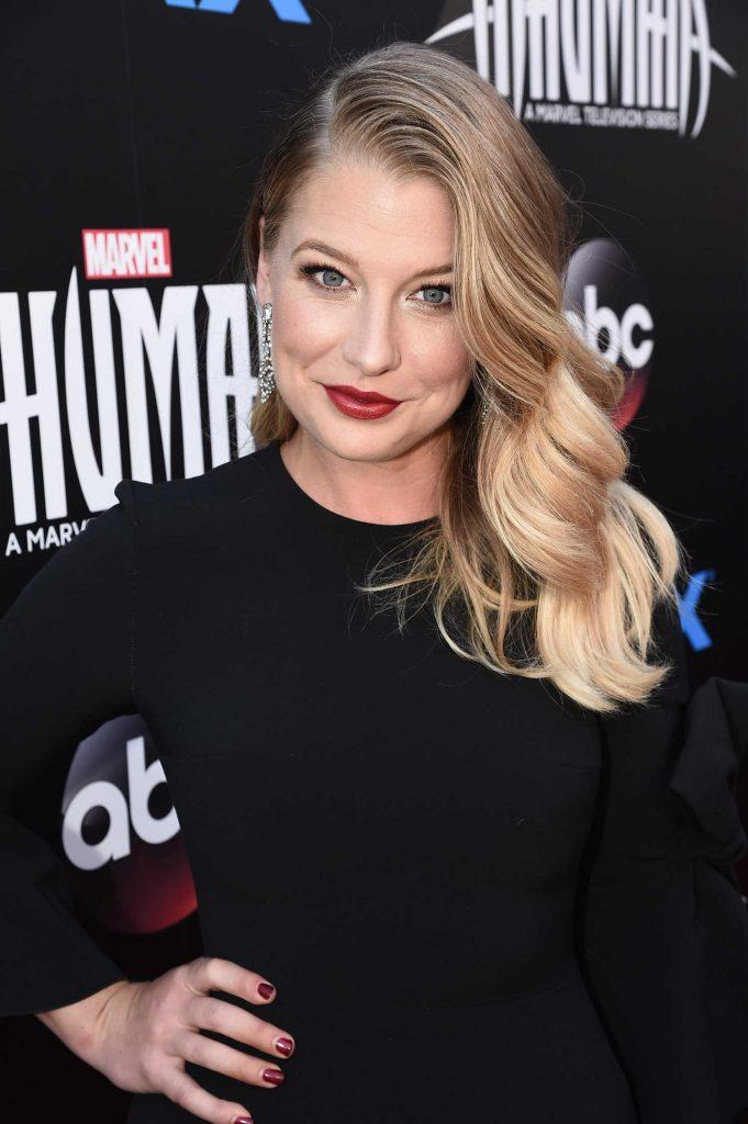 Ellen Woglom at Marvel's Inhumans - The First Chapter IMAX World Premiere in Universal City-5