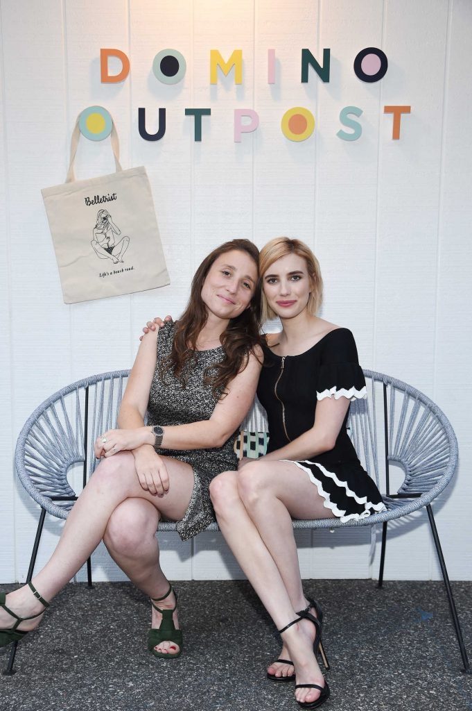 Emma Roberts at Domino x American Express Platinum in Bridgehampton-4