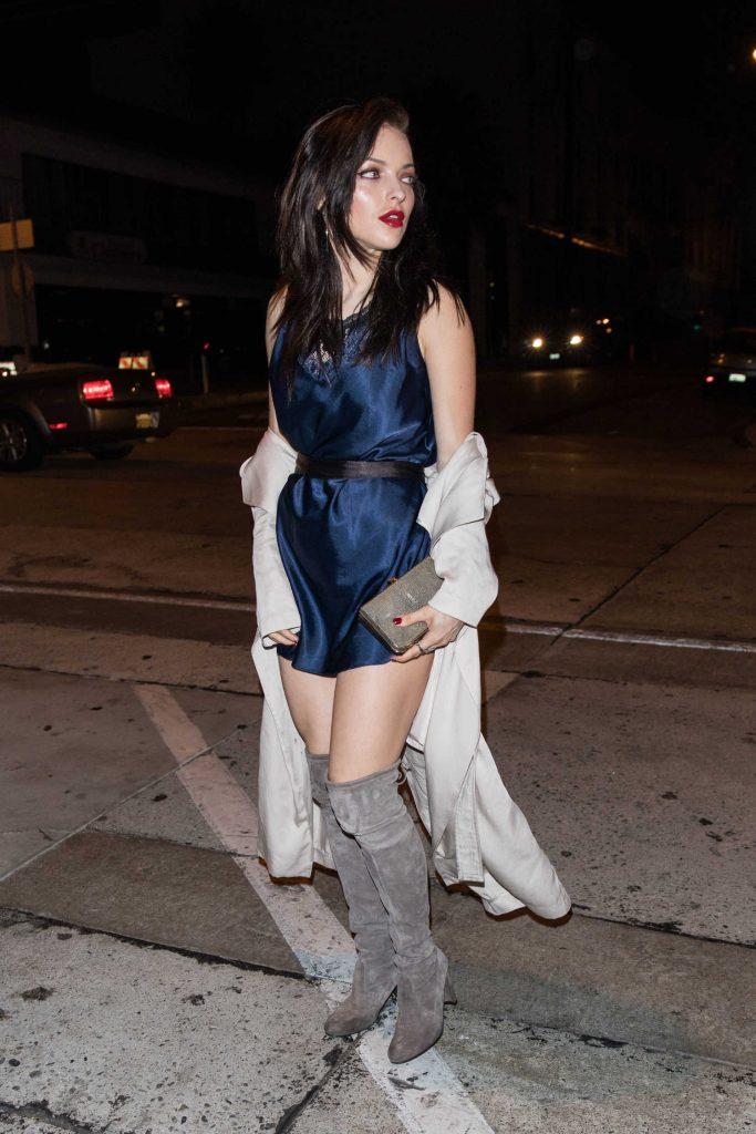 Francesca Eastwood Arrives at Craig's Restaurant in West Hollywood-2