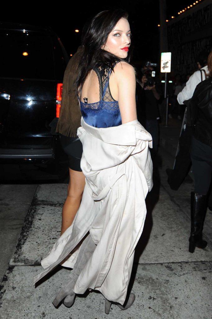 Francesca Eastwood Arrives at Craig's Restaurant in West Hollywood-4