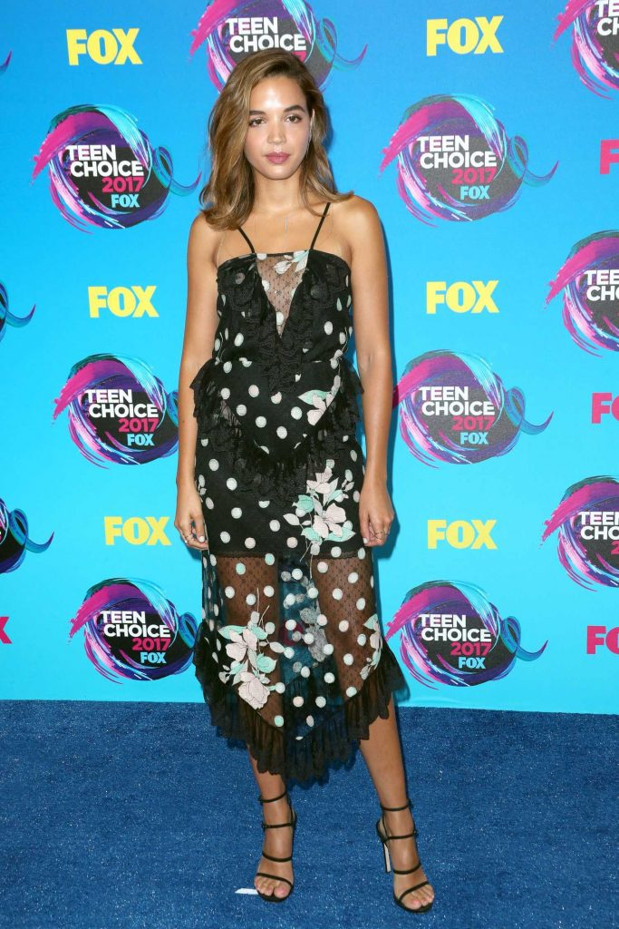 Georgie Flores at 2017 Teen Choice Awards in Los Angeles-1