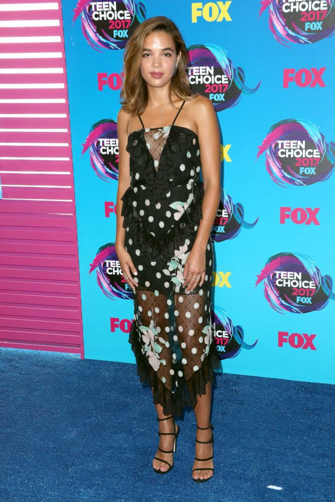 Georgie Flores at 2017 Teen Choice Awards in Los Angeles-2