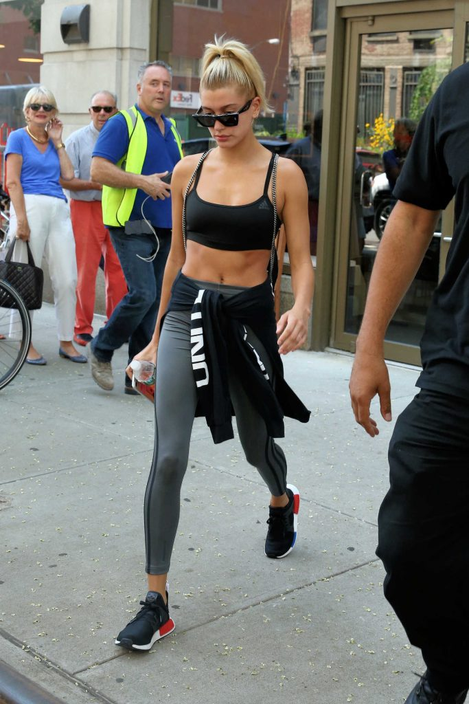 Hailey Baldwin Leaves Gotham Gym in New York City-1