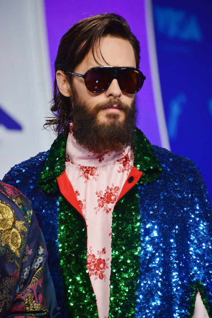 Jared Leto at the 2017 MTV Video Music Awards in Los Angeles-1