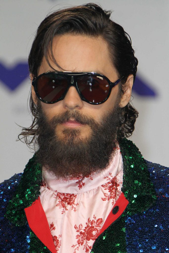 Jared Leto at the 2017 MTV Video Music Awards in Los Angeles-2