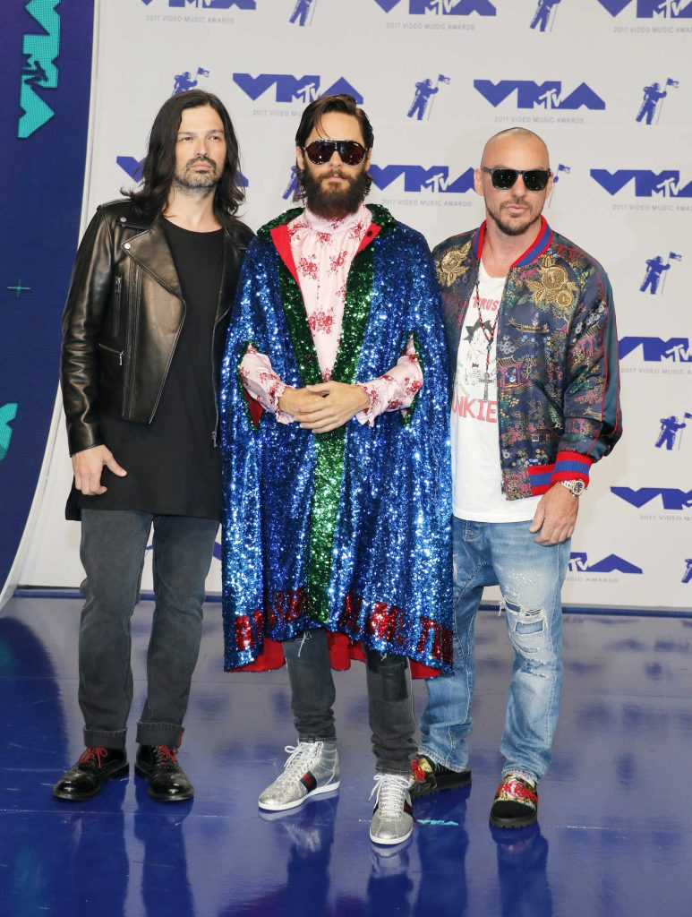Jared Leto at the 2017 MTV Video Music Awards in Los Angeles-3