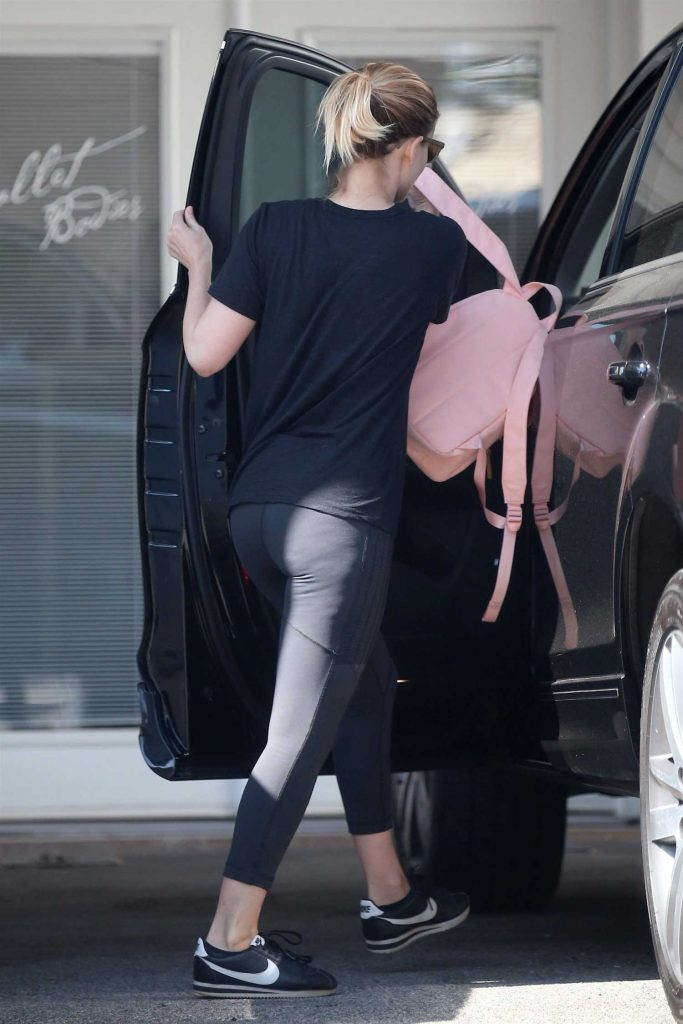 Kate Mara Leaves a Workout in Hollywood-4