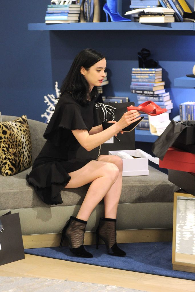 Krysten Ritter Celebrates the 10th Birthday of 10022-Shoe at Saks Fifth Avenue in New York-3