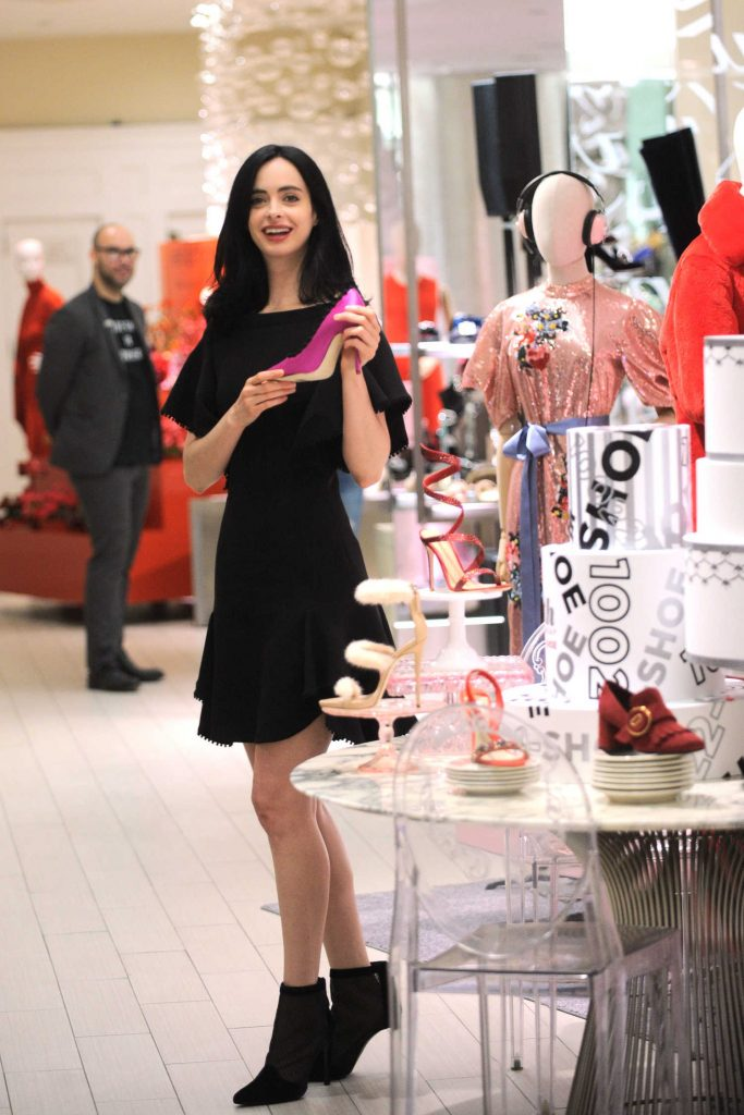 Krysten Ritter Celebrates the 10th Birthday of 10022-Shoe at Saks Fifth Avenue in New York-5