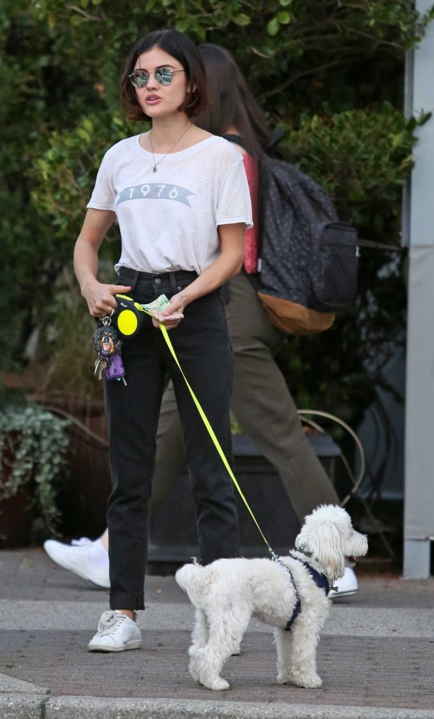 Lucy Hale Makes a Withdrawal to pay Her Dog Sitter in Vancouver-2