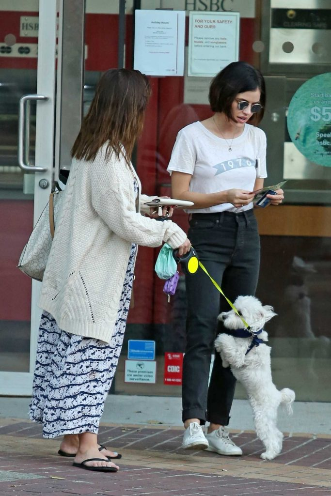 Lucy Hale Makes a Withdrawal to pay Her Dog Sitter in Vancouver-4