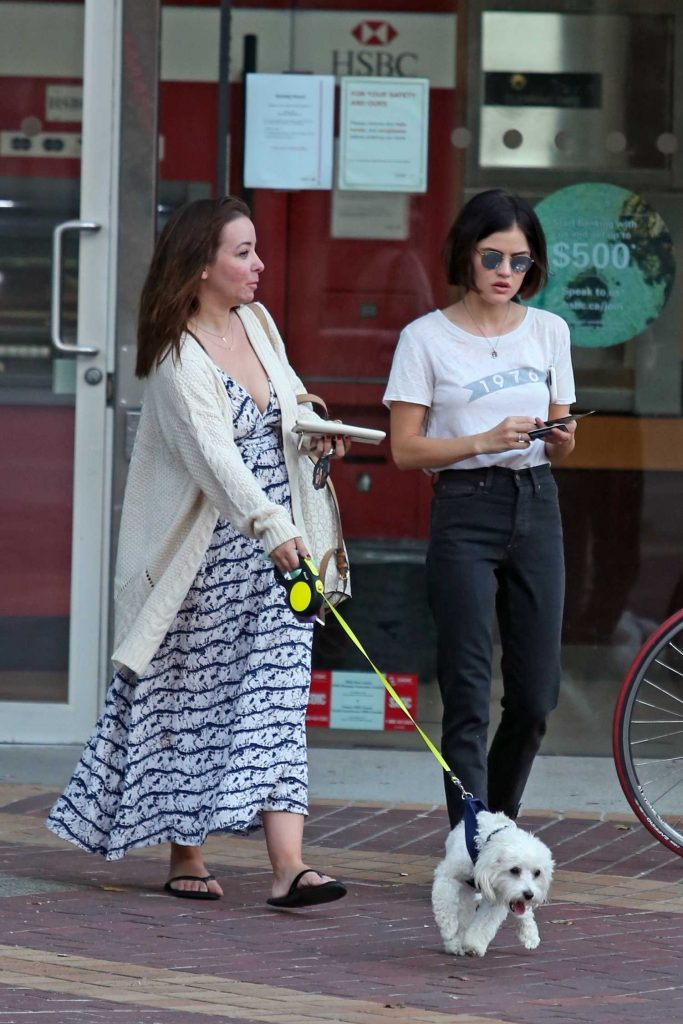 Lucy Hale Makes a Withdrawal to pay Her Dog Sitter in Vancouver-5